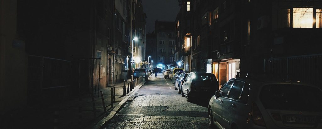 personal safety walking home at night is key for finding an optimal home location