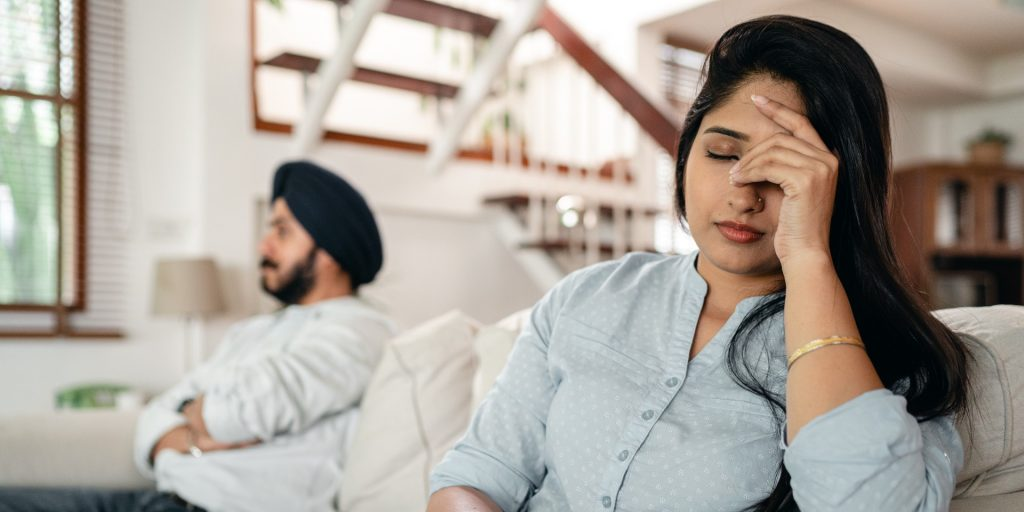 When one partner owns the house, breaking up can cause issues